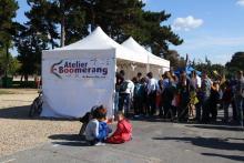 L'Atelier Boomerang de Paris Plane.
